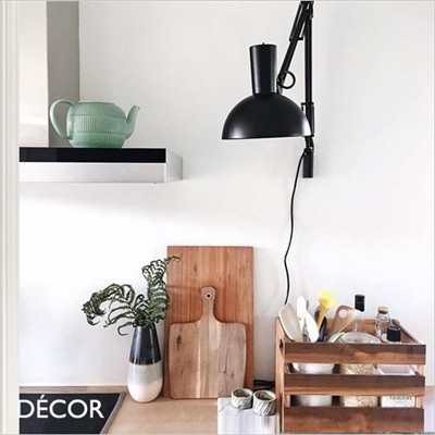 ARKI WALL LIGHT, BLACK