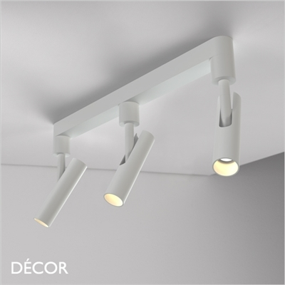 MIB 3 RAIL CEILING LIGHT, LED, WHITE