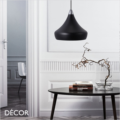 FASCINO PENDANT LIGHT, BLACK