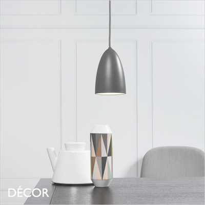 NEXUS 10 PENDANT LIGHT, DARK GREY