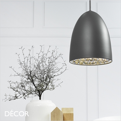 NEXUS 20 PENDANT LIGHT, DARK GREY
