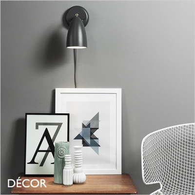NEXUS 10 WALL LIGHT, DARK GREY