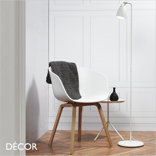NEXUS 10 FLOOR LAMP, WHITE