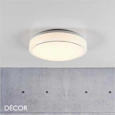 MELO 28 CEILING LIGHT, LED, WHITE