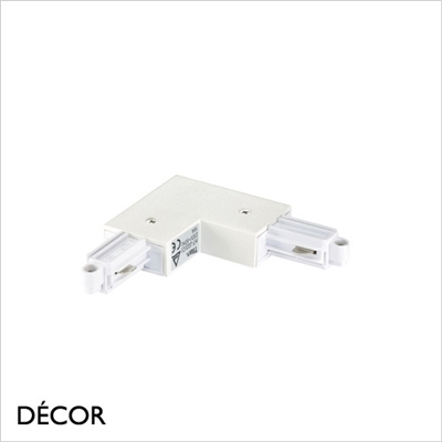 LINK SYSTEM RIGHT-ANGLE CONNECTOR, WHITE