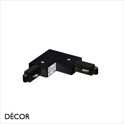 LINK SYSTEM RIGHT-ANGLE CONNECTOR, BLACK