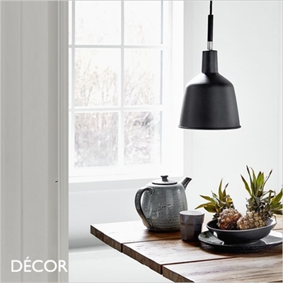 PATTON PENDANT LIGHT, BLACK