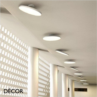 ALBA PRO 30 & 40 CEILING LIGHT, WHITE