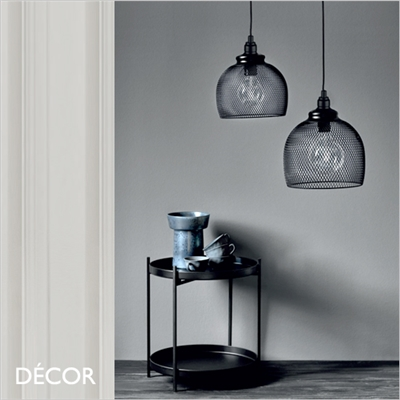 ELDR 25 & ELDR 30 PENDANT LIGHT, BLACK