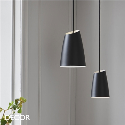 SWAY PENDANT LIGHT, 2 SIZES, BLACK