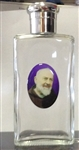 Holy Water Glass Bottle with St. Pio (100ml)