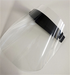 Standard Face Shield, (NOT LIFTABLE)