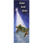 Christmas Come Lord Jesus Banner 3.3m x 1.2m