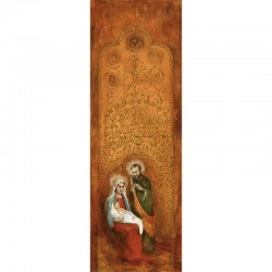 Christmas Holy Family Painting Banner 3.3m x 1.2m