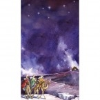 Advent 3 Kings & Stable Banner 1.2m x 0.5m (SMALL NO 8)