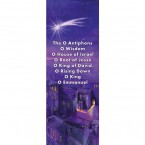 Advent Antiphon Banner 0.5 x 1.2m (SMALL NO 3)