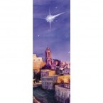 Advent Night over Bethlehem Banner 1.2m x 0.5m (SMALL NO 14)