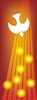 Confirmation Tongues of Fire Banner 1.2m x 3.3m (LARGE NO 5)