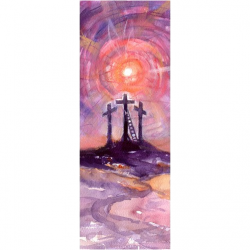 Easter Calvary Banner 3.3m x 1.2m No. 2