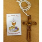 (NO 1) First Holy Communion Cross & Booklet