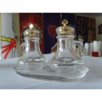 Cruet Set with Glass Tray (100mL)