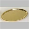 Communion Tray with Gold Finish.