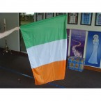 Irish Tricolour Flag 1.5m x 1m