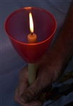 170 Easter Vigil Candles with Red Beakers