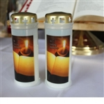 (NO 3) 5 Day In Loving Memory Picture Candle (30)
