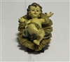 Baby Jesus with Manger 16cm