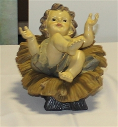 Baby Jesus with Manger 26cm