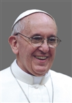 PICTURE OF POPE FRANCIS ON CANVAS