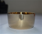 8cm Brass Candle Ring