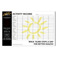 NEW-LIFESTYLES Activity Record