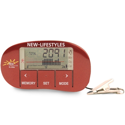 NEW-LIFESTYLES NL-2000i Deep Red Accelerometer