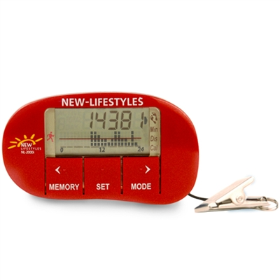 NEW-LIFESTYLES NL-2000i Rojo Red Accelerometer