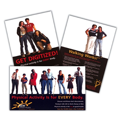Physical Activity 3-Pack of Posters