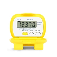 "NEW-LIFESTYLES Yellow SW-401 YAMAX DIGI-WALKERâ""¢ Pedometer"