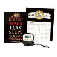 "NEW-LIFESTYLES DIGI-WALKERâ""¢ Pedometer 10,000 Steps System"
