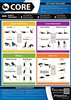 Core Exercise Chart, Core Exercise Poster, Core Exercises,