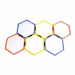 Hex Agility Ring, Hex Agility Ring Set, Hex Training Rings, Hex Agility Rings, Hex Speed Rings, Hex Training Rings, Hex Sports Training Set,