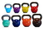 Vinyl Kettlebell Set, Vinyl Coated Kettlebell Set