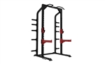 Healthstream Commercial Half Power Rack with J Hooks