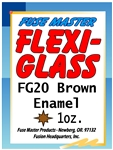 Flexi-Glass Brown Enamel