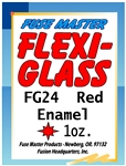 Flexi-Glass  Red Enamel