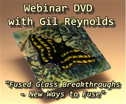 Fused Glass Breakthroughs Webinar DVD