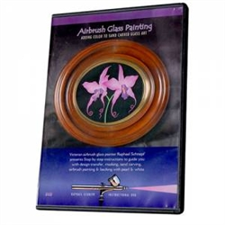 Airbrush Glass Painting, Adding Color to Sand-Carved Glass Art