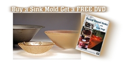 Glass Sink Mold with FREE DVD