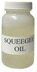 Squeegee  Oil, 2oz.