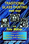 Traditional Glass Painting DVD